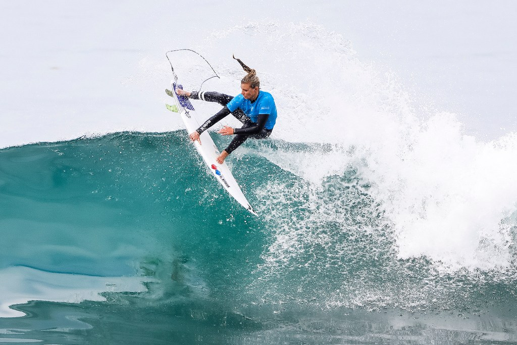 Lakey Peterson of the USA finishes equal 3rd in the 2017 Swatch Pro Trestles after placing second to Silvana Lima of Brazil in Semifinal Heat 1 at Trestles, CA, USA.