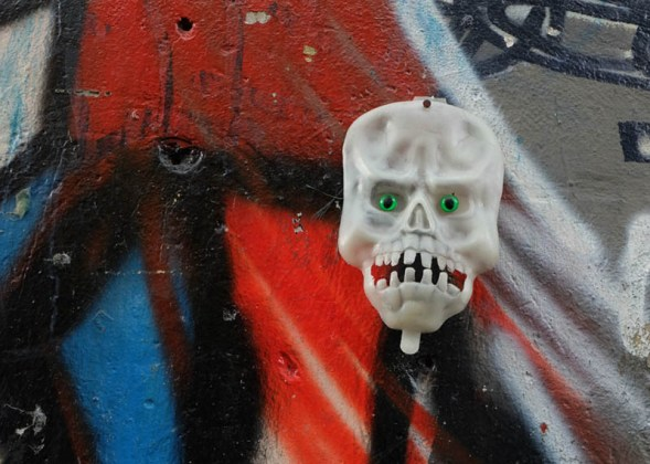 Mask of the bizarre and death cult of El Bronx.