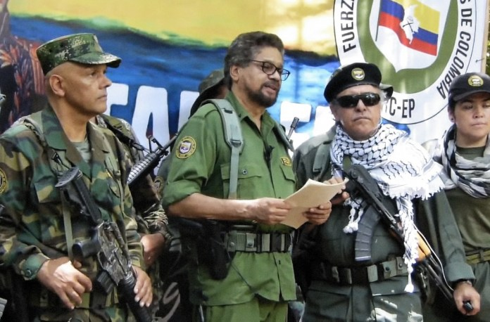 """Colombia's senior FARC dissidents announce their """"return to arms""""   The City Paper Bogotá"""