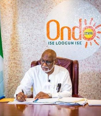 No Plan To Impeach Akeredolu Over N4.3bn Secret Cash, Lawmakers
