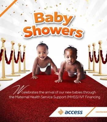 ACCESS BANK ADDS ANOTHER FEATHER THROUGH W-INITIATIVE