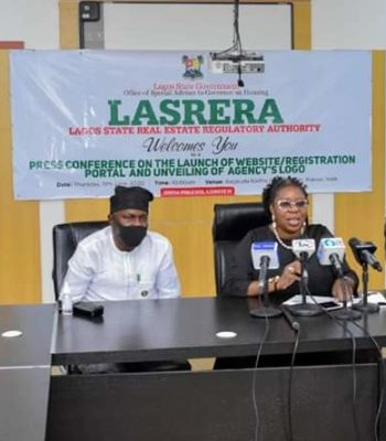LASG: LASRERA Unveils Website Registration Portal For Real Estate Practitioners