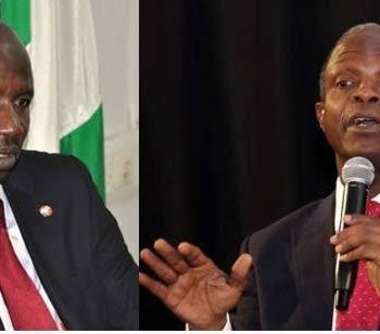 Osinbajo Reacts To N4billion Allegation From Suspended EFCC Chairman, Ibrahim Magu