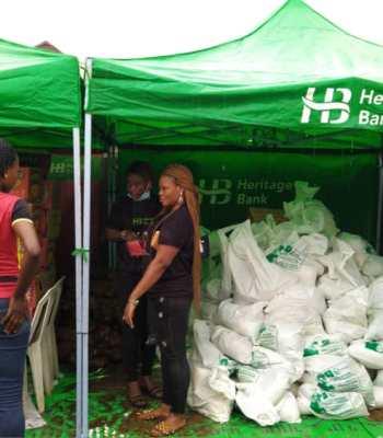 Heritage Bank, FAMO Provide Succor For 300 Private School Teachers, SMEs ~Thecitypulsenews