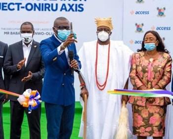 CSR: Access Bank, Lagos State Government Commission Oniru Road Project ~Thecitypulsenews