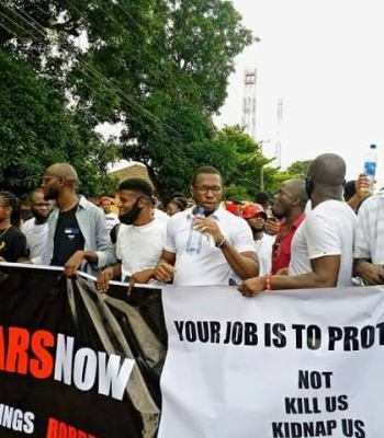 #EndSARS: Protesters Reject IGP's SWAT, Call For Complete Police Reform ~Thecitypulsenews