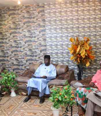Gombe Governor Holds Media Parley