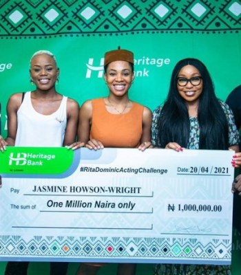 """Heritage Bank Boost Creative Industry With Support For """"Rita Dominic Acting Challenge"""""""