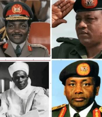 Shocking Revelation: Babangida, Abacha, Gowon, Tafawa Balewa Are Not Hausa Or Fulani, See Their Tribe