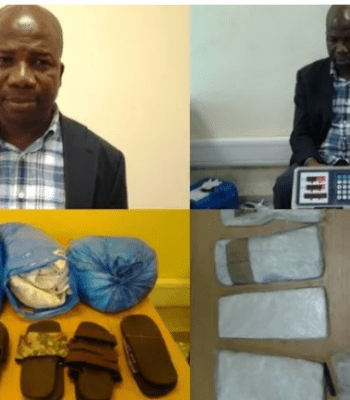 Former Lagos Island Council Boss Asekun Kehinde Sakiru Busted With Cocaine, N145m Seized {Photos}