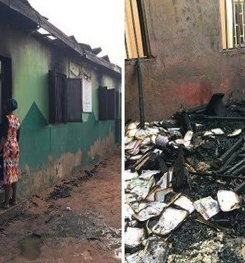 Shalom Nursery And Primary School, Owned By RCCG Razed By Strange Fire (Photo)