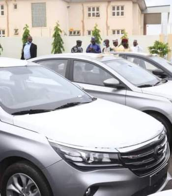 Council Chairmen Get Utility Vehicles In Gombe