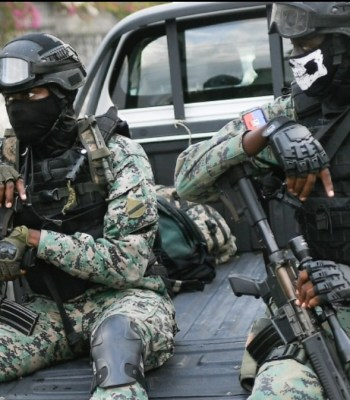 Head of security at Haiti's presidential residence in police custody