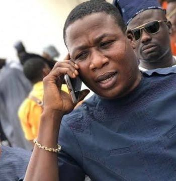"""""""Sunday Igboho Trying To Escape,"""" FG Places Activist On Stop-List"""