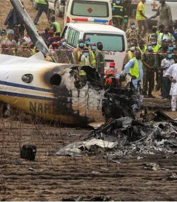 Just-In: Another Nigerian Military Aircraft Crashes