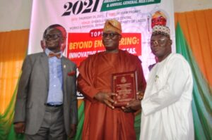 NSE OGD Honoured For Contributing To Growth And Development Of Engineering Profession