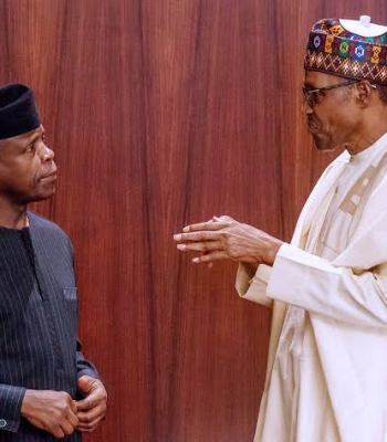 2023: Osinbajo Finally Speaks On Call For Him To Replace Buhari