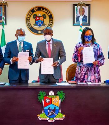 Lagos Eyes $60 Million Investment, As Sanwo-Olu Signs Green Bond Market Agreement