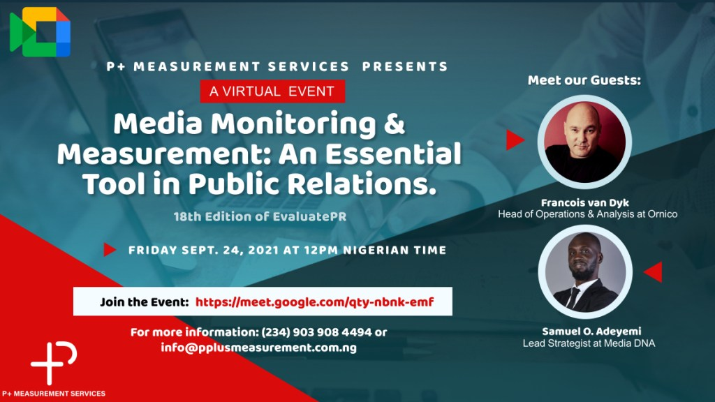 Communications Professionals set to discuss Media Monitoring & Measurement as an Essential Tool in Public Relations