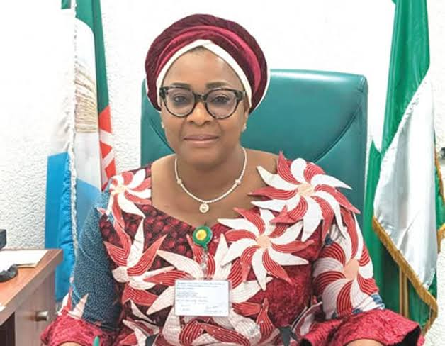 Bereaved: Hon. Tolulope Akande-Sadipe Commiserates with Florence Ajimobi