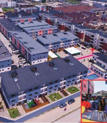 Ikate-Elegushi: Sanwo-Olu Commissions 100-Unit Housing Project In Lekki
