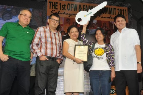 Camella Homes Raffle Winner - 1st OFW and Family Summit