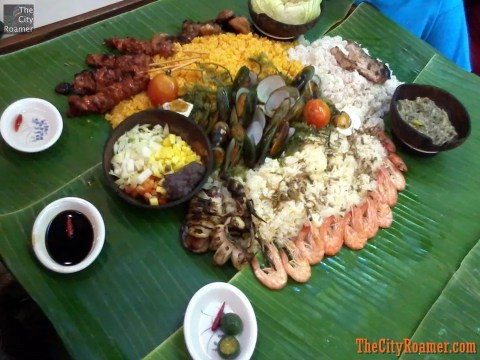 Davao Gulf Boodle Feast at Blackbirds Seafood Island Harbor Point