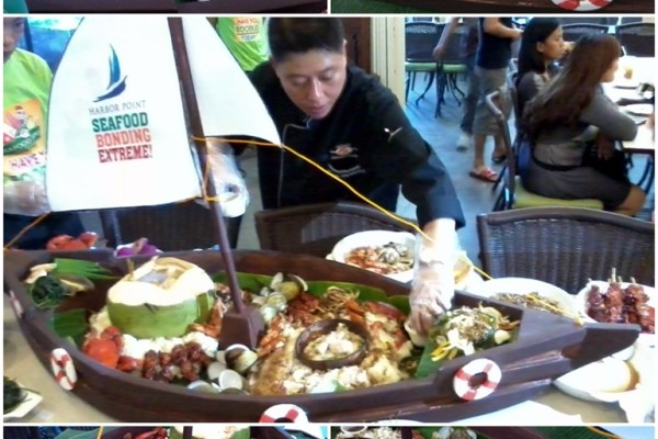 Seafood Bonding Extreme with Boodle Feast
