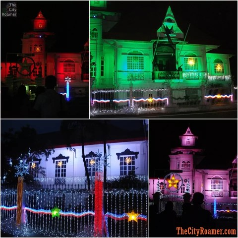 Christmas Light and Sound Show at the Aguinaldo Shrine - 01