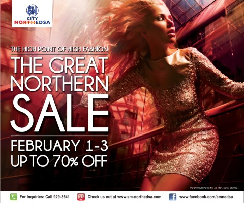 The Great Northern Sale - SM North Edsa - Feb 1-3