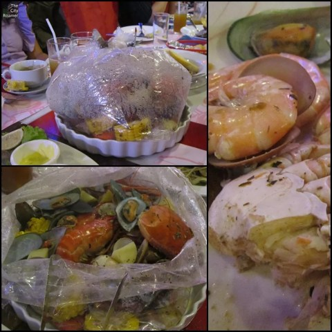 Seafood Boil in a Bag at ClawDaddy Robinsons Magnolia