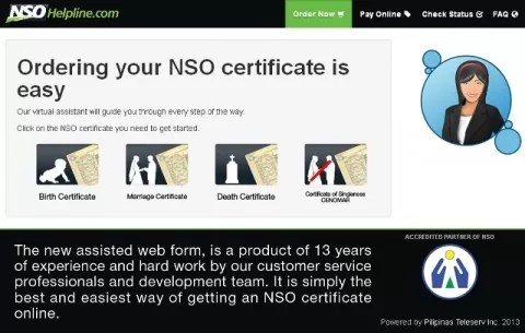 NSOHelpline.com Ordering NSO Certificate is Easy