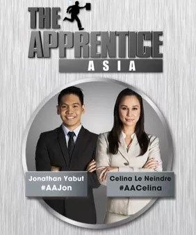 The Apprentice Asia Filipino Contenders Jonathan Yabut and Celina Le Neindre