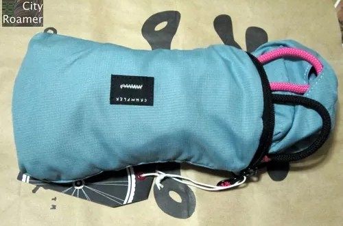 Crumpler - The Squid Bag unzipped