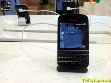 Blackberry Q10 at Pismo Digital Lifestyle