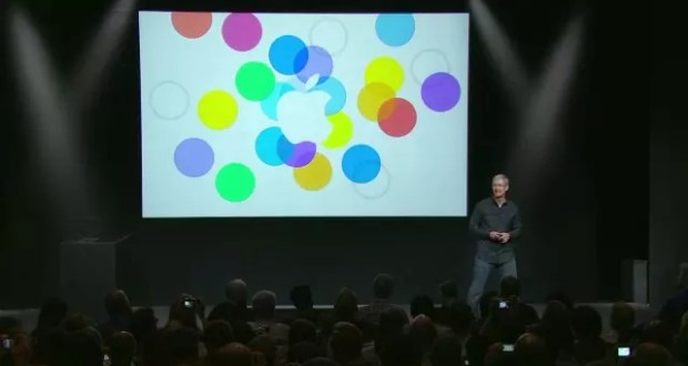 Apple CEO Tim Cook at the Keynote September 2013