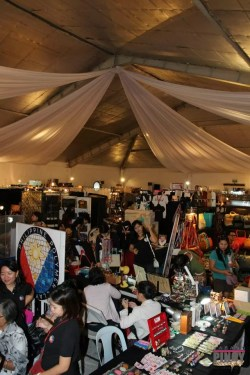 Global Pinoy Bazaar 2012 at Rockwell Tent