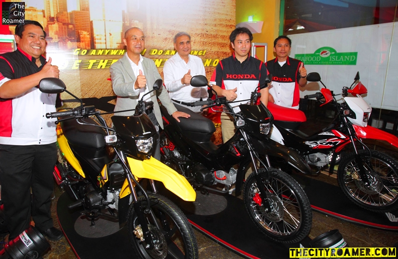Honda Philippines Executives at the XRM 125 Press Launch