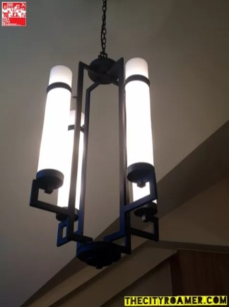 Lighting fixtures at the Presidential Suite of Azalea Residences Baguio