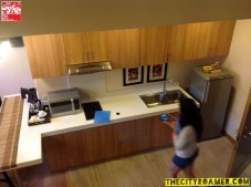 The Kitchen of the Presidential Suite of Azalea Residences Baguio