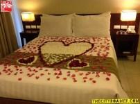 A Setup at the Romantic Suite of Azalea Residences Baguio