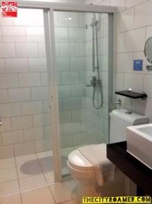Toilet and Bath at the Azalea Residences Baguio Romantic Suite