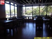 Wide windows at Azalea Residences Baguio Tradisyon Coffee Shop