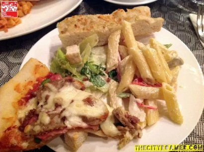 Plate 2 - Pasta and Pizza Dinner Buffet at Tradisyon Restaurant