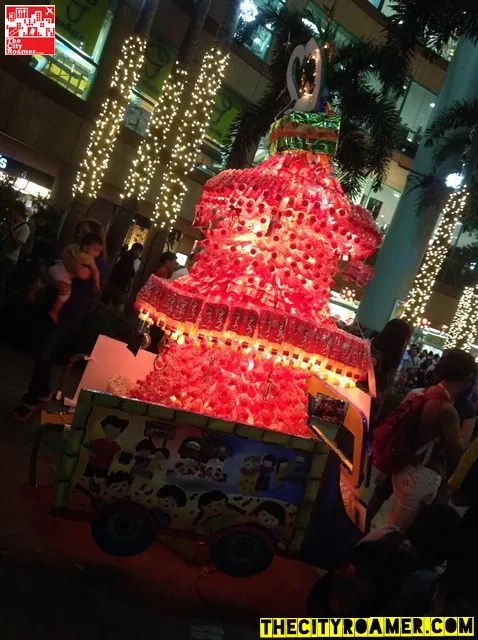 University of Makati College of Allied Health Services entry to C2 Sarap ng Christmas Tree-Making Contest