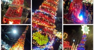 C2 Sarap ng Christmas-Tree Making Contest display at Market! Market!