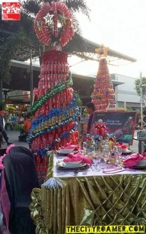 NCBA Fairview C2 Sarap ng Christmas Tree-Making Competition Entry