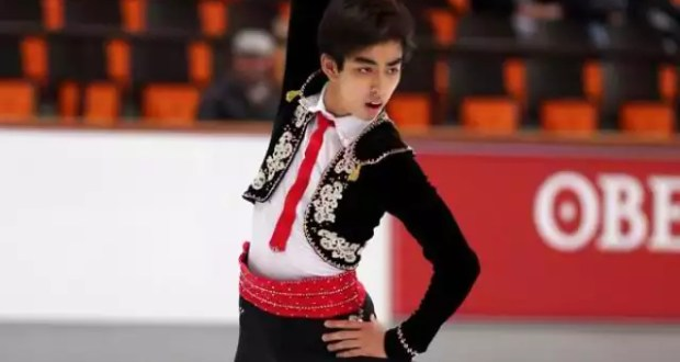 Michael Christian Martinez at the 2013 Nebelhorn Trophy in Germany
