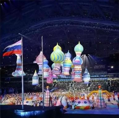 Opening Ceremony of the Sochi 2014 Winter Olympics