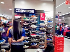 Converse at the Men's Shoe Section SM City Sta Mesa